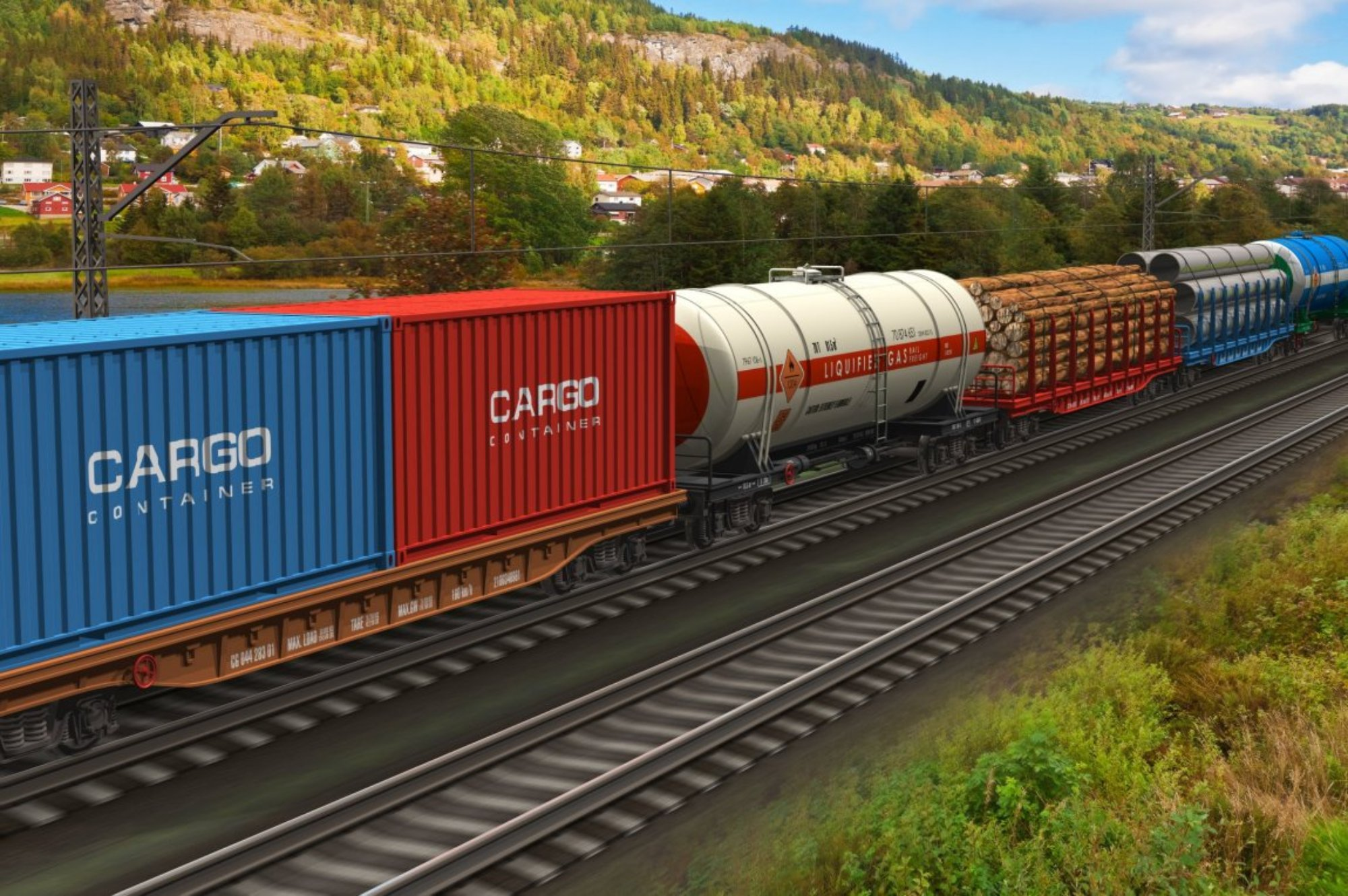 Inland container software